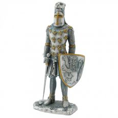 Ancestors of Dover Knight with lion crested helmet figure