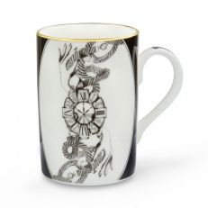 """Divineness of time"" fine bone china mug"