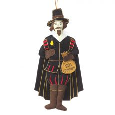 Guy Fawkes hanging decoration - Christmas ornaments