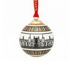 Halcyon Days Hampton Court Palace ceramic christmas tree decoration