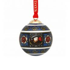 Halyon Days Henry VIII ceramic christmas tree decoration