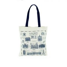 London buildings & heritage cotton tote bag