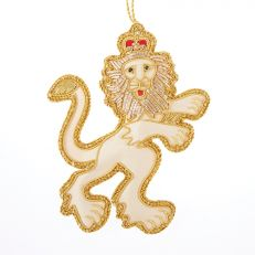 Tinker Tailor Royal Beasts Lion tree decoration
