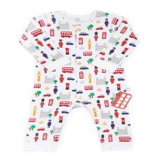 Little London baby cotton romper suit