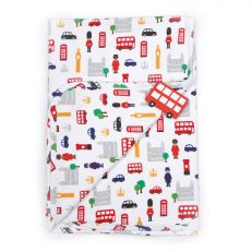 Little London cotton baby blanket