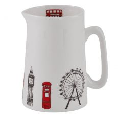 London skyline fine bone china half pint jug