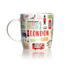 London adventures ceramic mug
