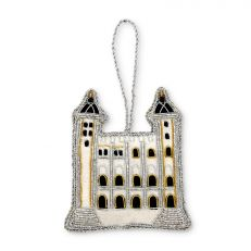 Tower of London White Tower luxury embroidered hanging decoration