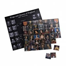 Magnetic Monarchs: Kings and Queens of Great Britain magnet set