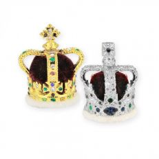 Crowns and Regalia The miniature Crown collection - St. Edward's Crown and Imperial State Crown set