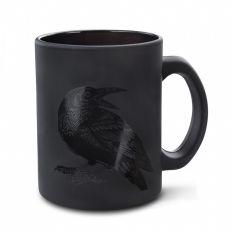 Raven Black On Black Mug
