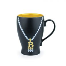 Anne Boleyn initial necklace mug