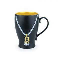 Anne Boleyn initial necklace mug