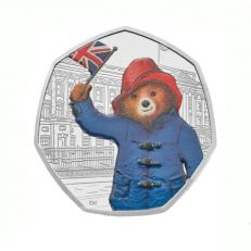 Royal Mint Paddington at Buckingham Palace silver proof commemorative 50p coin