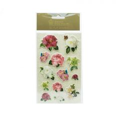 Royal Palace Rose 3D puff stickers