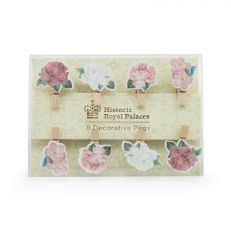 Royal Palace Rose mini pegs (set of 8)