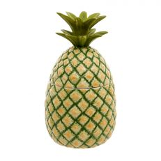 Pineapple ceramic jar