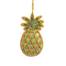 St. Nicolas Pineapple luxury hanging decoration - Hillsborough Castle pineapple house
