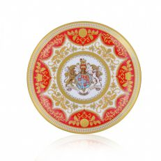 Royal Palace Crest fine English bone china plate