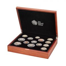 The Royal Mint United Kingdom commemorative premium proof coin set 2019