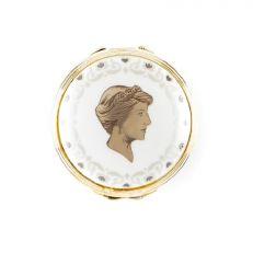 Princess Diana fine bone china commemorative hinged pillbox