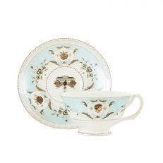 Princess Diana commemorative fine bone china teacup and saucer