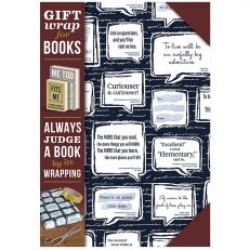 Gift wrap for books- quotations