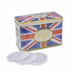 Retro union jack tea tin (40 bags)