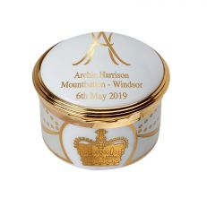 Royal Baby 2019 commemorative Archie Harrison Mountbatten-Windsor trinket box