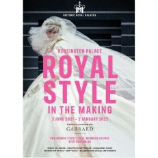 Royal Style in the Making A3 Poster