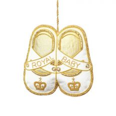 Royal Baby Shoes Luxury Hanging Decoration