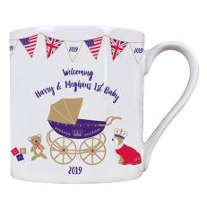Royal Baby 2019 Fine Bone China Mug - Celebrating the birth of Archie Harrison Mountbatten-Windsor