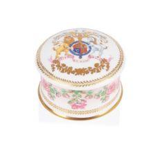 Queen's 95th birthday 2021 official commemorative bone china pill box
