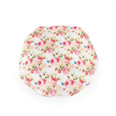 Luxury Palace Rose print satin shower cap