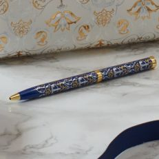 Royal Victoria navy gem pen