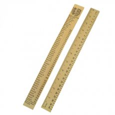 Kings and Queens wooden ruler