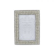 Kensington Palace silver and pearl encrusted photo frame 4x6 inch
