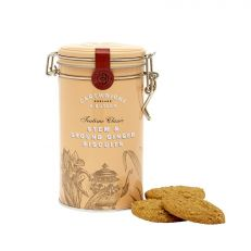 Cartwright & Butler Stem and Ground Ginger biscuits in tin