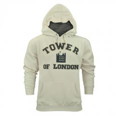 Tower of London hooded sweatshirt (cream)