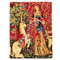 Flemish Tapestries Lady and the Unicorn tapestry - Sense of smell
