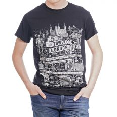 Tower of London story t-shirt