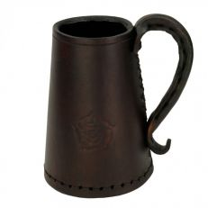 Hide Bound Tower of London Tudor leather drinks tankard