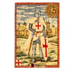 Flemish Tapestries Knights Templar - Templier Tapestry