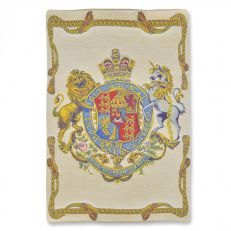 Flemish Tapestries Royal coat of arms tapestry