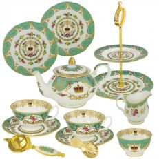 William Edwards Royal Palace luxury fine bone china tea party set - Exclusive to Historic Royal Palaces