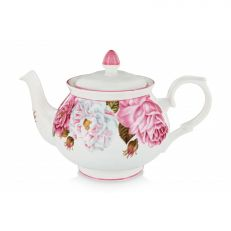 royal palace rose fine bone china teapot