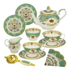 William Edwards Royal Palace Collection tea for two set - handmade in England for Historic Royal Palaces