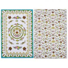 Royal Palace china tea towels