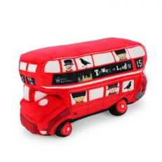 Tower of London 'Routemaster' red bus soft toy