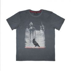 Tower of London Raven black cotton t-shirt – adult sizes